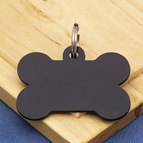 Large Bone Dog ID Tag