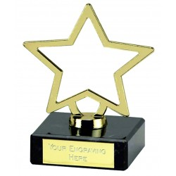 Galaxy Gold Star Award 9.5cm