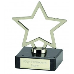 Galaxy Silver Star Award 9.5cm