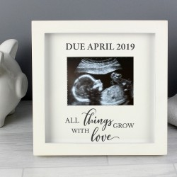 Personalised Baby Scan Frame