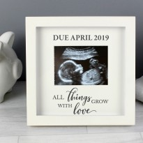 Personalised Baby Scan Picture Frame