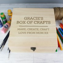 Any Message Large Wooden Keepsake Box