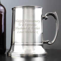 Personalised Stainless Steel Tankard