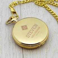 Personalised Wedding Role Fob Watch - Pocket Watch
