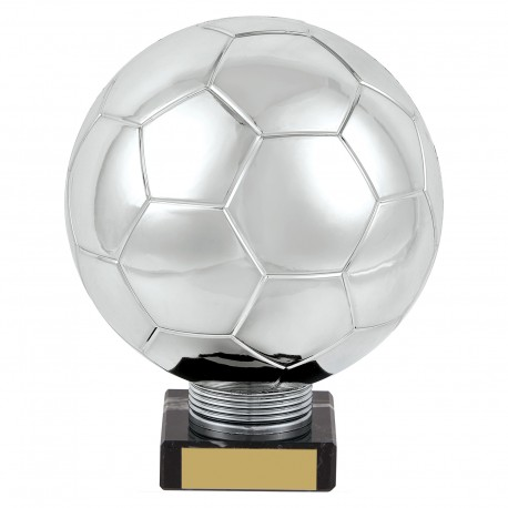 Silver Planet Football Legend Trophy