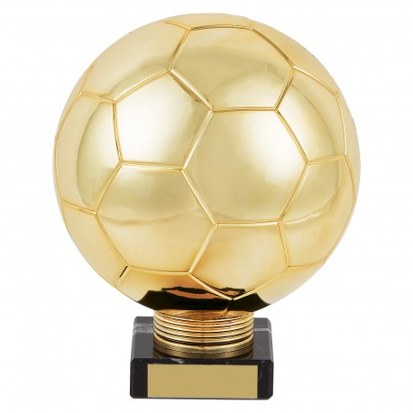 Gold Planet Football Legend Trophy