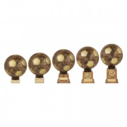 Bronze Planet Football Legend Trophy