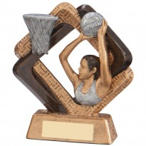 Netball Trophy - Sporting Unity Design