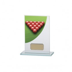 Glass Snooker Trophy