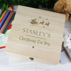 Personalised Santa Design Christmas Eve Box