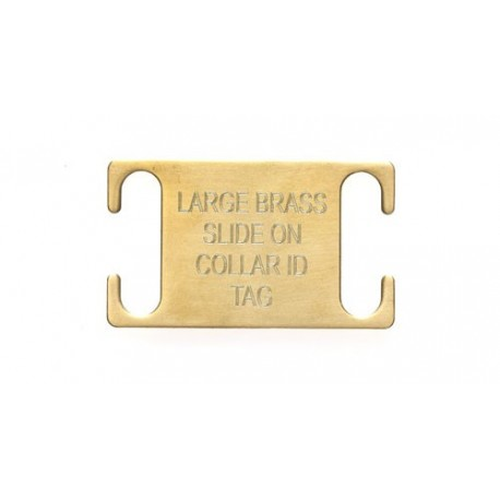 Agility Pet Id Tag Brass Large