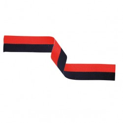 Black and Red Medal Ribbon
