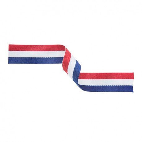 Red, White and Blue Medal Ribbon