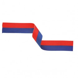 Blue and Red Medal Ribbon