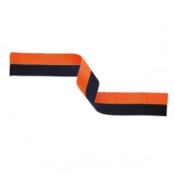 Orange and Black Medal Ribbon