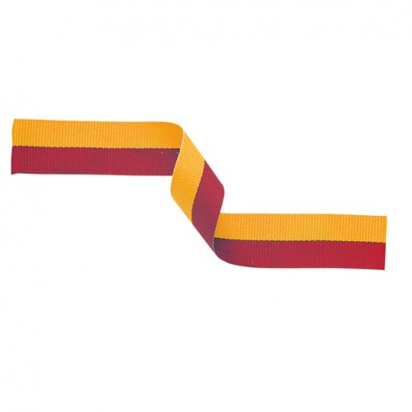 Red and Gold Medal Ribbon