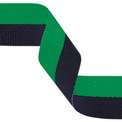 Green and Black Medal Ribbon