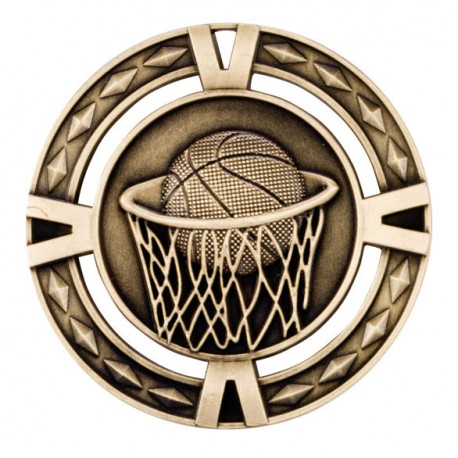 V-Tech Basketball Medal