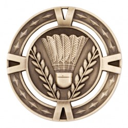 V-Tech Badminton Medal