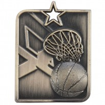 Centurion Star Basketball Medal