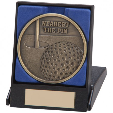 Boxed Nearest The Pin Medal