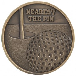 Nearest The Pin Medal