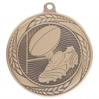 Typhoon Rugby Medal