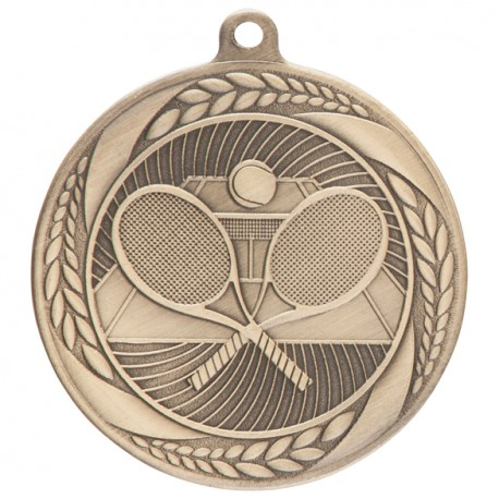 Typhoon Tennis Medal