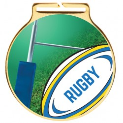 Vision Rugby Medal