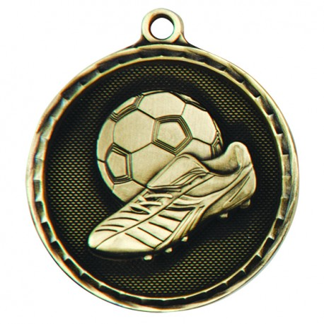 Power Boot Football Medal