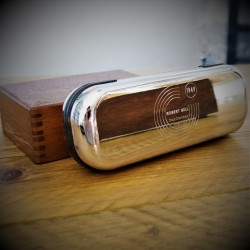 Special Year Engraved Glasses Case Silver