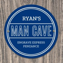 Man Cave Heritage Plaque