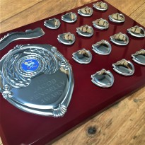 16 Year Rosewood Presentation Shield