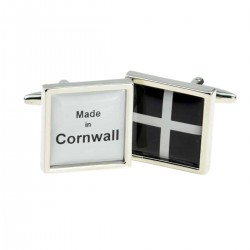 Made in Cornwall Flag Cufflinks