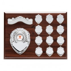 12 Year Rosewood Presentation Shield