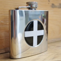 Cornish Flag Hip Flask
