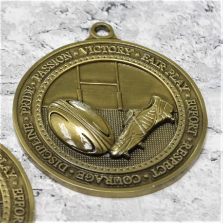 Olympia Rugby Medal