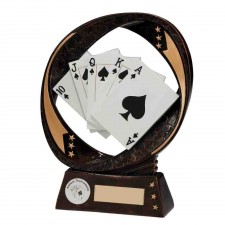 Bridge Poker Trophies