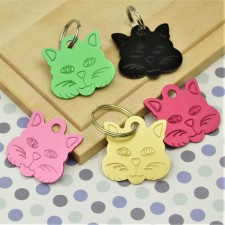 Engraved Cat Tags