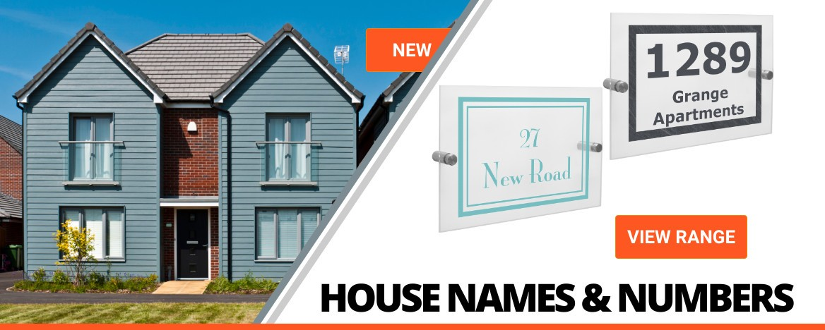 HOUSE NAMES AND NUMBERS